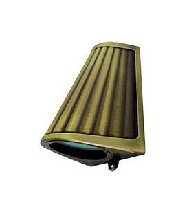 Накладной настенный светильник с матовым стеклом, FEDE коллекция BARI OPAQUE GLASS, bright patina