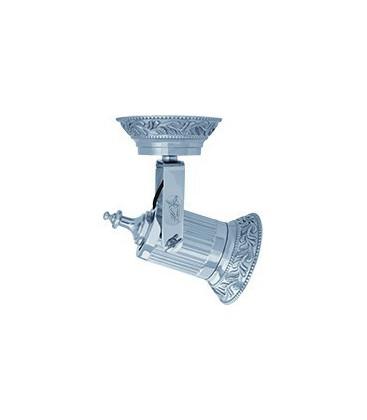 Накладной поворотный светодиодный светильник из латуни, FEDE коллекция VIENNA PAR 30 LED, блестящий хром