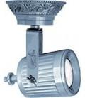 Накладной поворотный светильник из латуни с патроном GU10, FEDE коллекция VIENNA, блестящий хром