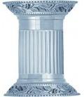 Настенный светильник из латуни (2 лампы), FEDE коллекция VIENNA UP & DOWN, блестящий хром