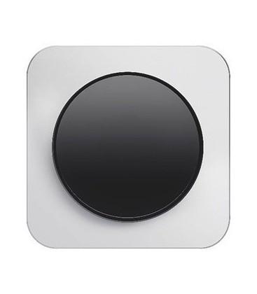 Выключатель в сборе Berker серии R.1, натуральный алюминий/черный