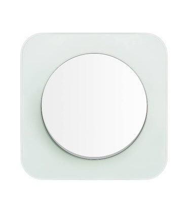 Выключатель в сборе Berker серии R.1, стекло полярная белизна