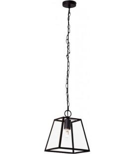 """Светильник потолочный с подвесом """"Bedford"""", 1x40W Е14 мет./стекло, черный"""