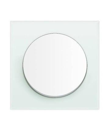 Выключатель в сборе Berker серии R.3, стекло полярная белизна