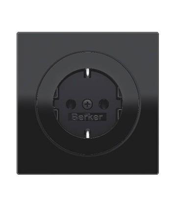 Розетка в сборе Berker серии R.3, черный