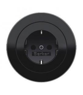 Розетка в сборе Berker серии R.Classic, черный