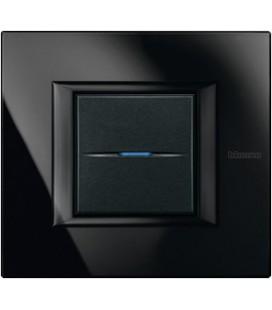 Выключатель в сборе Bticino серии Axolute (прямоугл. формы), Nighter