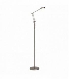 """Лампа напольная """"Carlino"""" 1х4, 5W, мет./стекло, 230V, LED, сатин хром"""