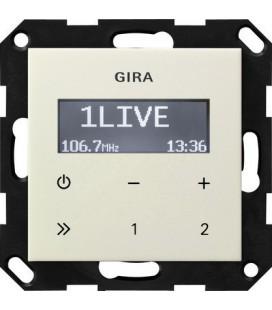 Радиоприемник скрытого монтажа с функцией RDS Gira