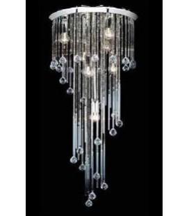 Светильник потолочный Kolarz ART DECO spectra SW, хром, C652.17/40
