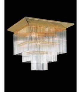 Светильник потолочный Kolarz ART DECO декор стекло, золото, C450.17/42