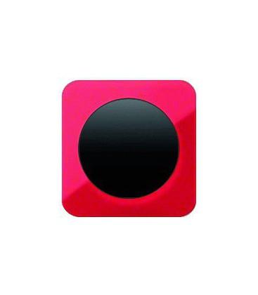 Выключатель одноклавишный в сборе Berker серии R.1 акрил, красный