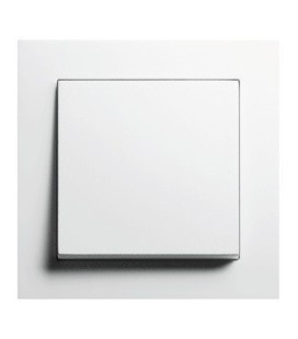 Выключатель в сборе GIRA серии E2, белый матовый