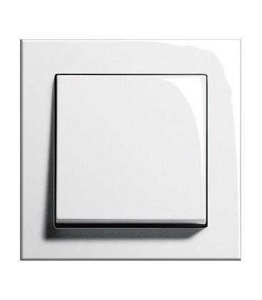 Выключатель в сборе GIRA серии E2, белый глянцевый