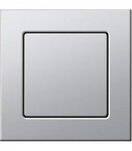 Выключатель в сборе Gira серии E22, алюминий