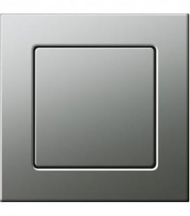 Выключатель в сборе Gira серии E22, сталь