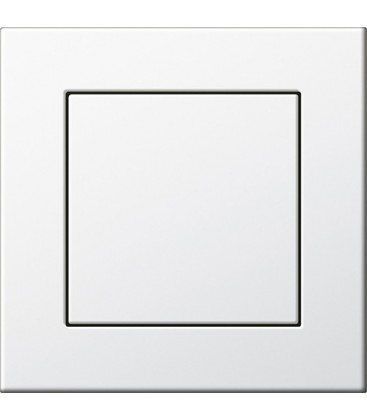 Выключатель в сборе Gira серии E22, глянцевый белый
