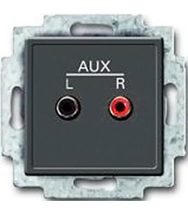 Механизм аудио-входа ABB с суппортом, стерео