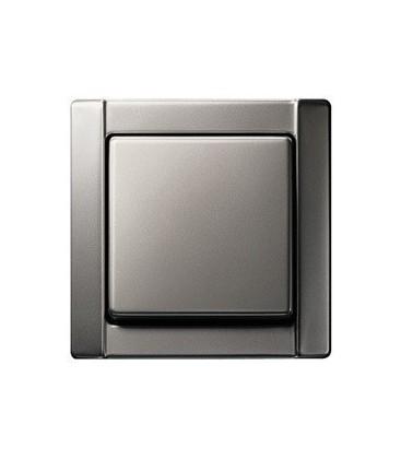 Выключатель в сборе Gira Edelstahl серия 20, сталь