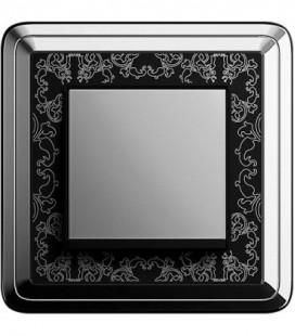Выключатель в сборе GIRA серии ClassiX Art, хром-черный