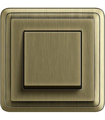 Выключатель в сборе GIRA серии ClassiX, бронза