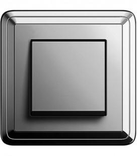 Выключатель в сборе GIRA серии ClassiX, хром