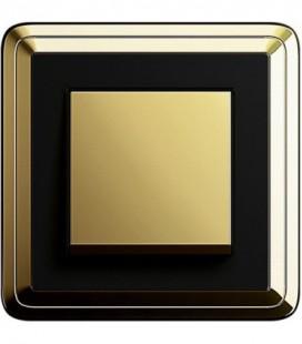 Выключатель в сборе GIRA серии ClassiX, латунь-черный