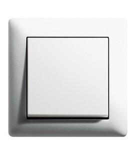 Выключатель в сборе GIRA серии Standart 55, белый матовый