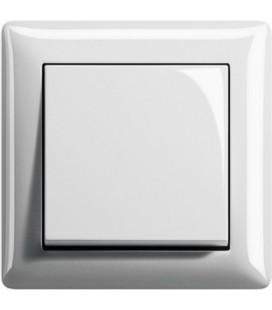 Выключатель в сборе GIRA серии Standart 55, белый глянцевый