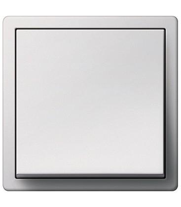 Выключатель в сборе GIRA серии F100, глянцевый белый
