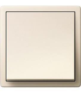 Выключатель в сборе GIRA серии F100, глянцевый кремовый