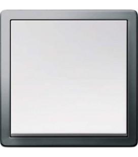 Выключатель в сборе GIRA серии F100, платина/глянцевый белый