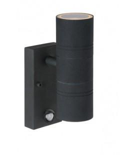 Lucide ARNE Wall Light +IR 2xGU10/35W Black, 14866/22/30