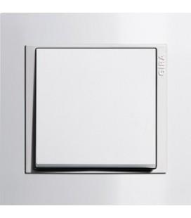 Выключатель в сборе GIRA серии Event, белый глянцевый