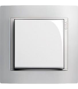 Выключатель в сборе GIRA серии Event, Opaque белый
