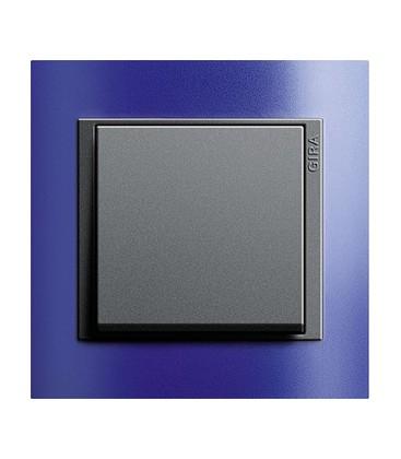 Выключатель в сборе GIRA серии Event, матовый синий