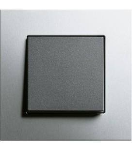 Выключатель в сборе GIRA серии Esprit, алюминий