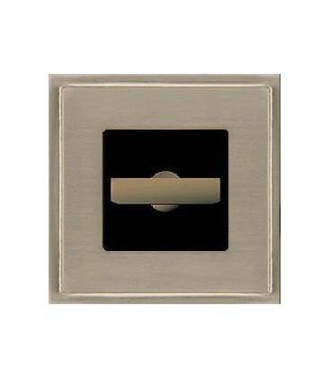 Поворотный выключатель в сборе FEDE коллекция Madrid, Nickel Satin