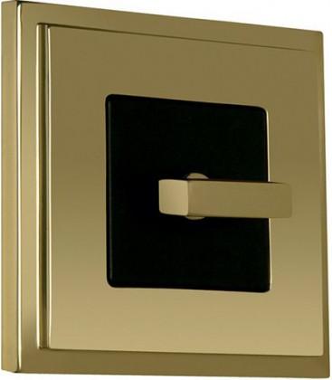Поворотный выключатель в сборе FEDE коллекция Madrid, Bright Gold