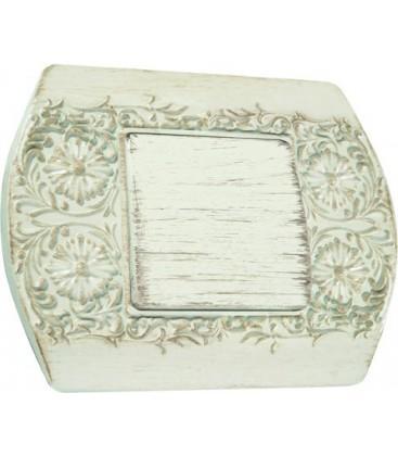 Выключатель в сборе FEDE коллекция Sanremo, White Decape