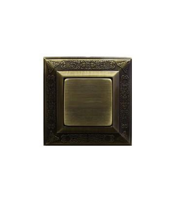 Выключатель в сборе FEDE коллекция Granada, Bright Patina