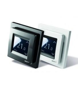Терморегулятор сенсорный DEVIreg Touch с комбинацией датчиков пола и воздуха, белый
