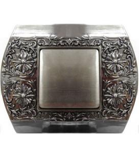 Выключатель в сборе FEDE коллекция Sanremo, Antic Silver