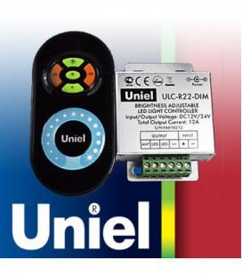 Комплект контроллера с пультом ДУ для светодиодных лент ULC-R22-DIM, черный