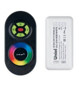 Комплект контроллера с пультом ДУ для светодиодных лент ULC-G10-RGB, черный