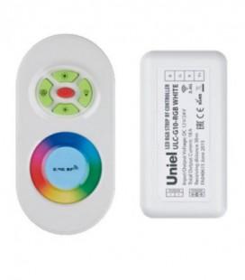 Комплект контроллера с пультом ДУ для светодиодных лент ULC-G10-RGB, белый