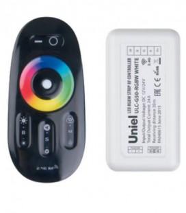 Комплект контроллера с пультом ДУ для светодиодных лент ULC-G50-RGBW, черный