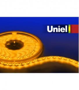 Светодиодная лента ULS-3528-120LED/m-8mm-IP20-DC12V-9,6W/m-5M-YELLOW катушка в герметичной упаковке