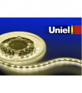 Светодиодная лента ULS-3528-120LED/m-8mm-IP65-DC12V-9,6W/m-5M-WW катушка в герметичной упаковке