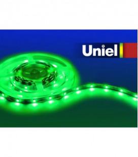 Светодиодная лента ULS-5050-60LED/m-10mm-IP20-DC12V-14,4W/m-5M-GREEN катушка в герметичной упаковке